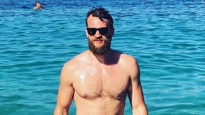 Danilo Barthel privat - im letzten Sommer entspannte er in Griechenland