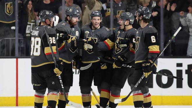 Die Vegas Golden Knights stürmen in den NHL-Playoffs von Sieg zu Sieg