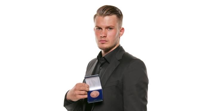 Lukas Mai bekam 2017 vom DFB die Fritz-Walter-Medaille in Bronze