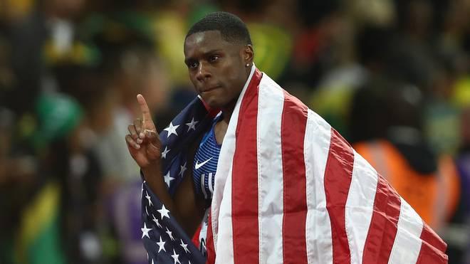 Christian Coleman ist der schnellste Mann über 60 Meter