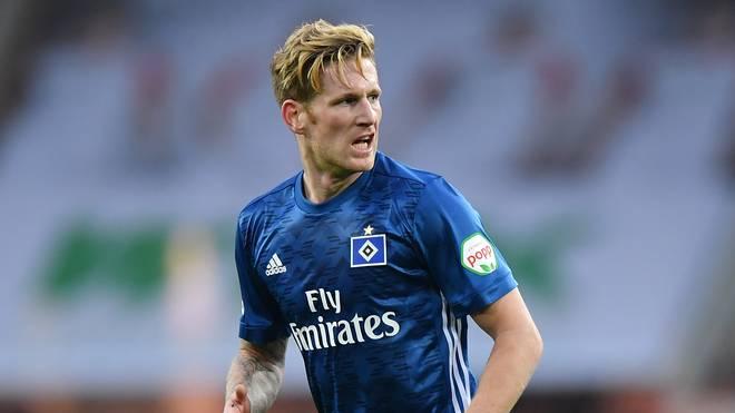 Andre Hahn vom FC Augsburg würde nicht wieder zum Hamburger SV wechseln