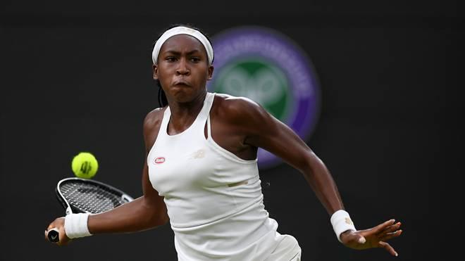 Cori Gauff steht schon in der dritten Runde von Wimbledon