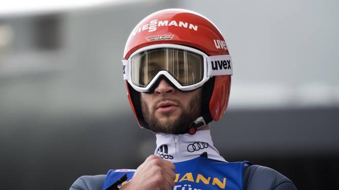 Markus Eisenbichler liegt nach zwei Springen der Vierschanzentournee auf Gesamtplatz zwei