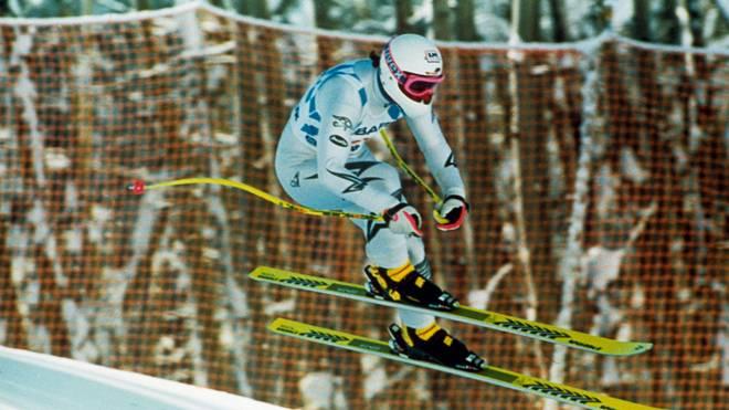 Hansjörg Tauscher gewann 1989 sensationell WM-Gold in der Abfahrt