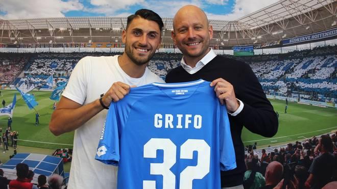 Vincenzo Grifo (l., mit Alexander Rosen) trug bereits von 2012 bis 2014 das TSG-Trikot