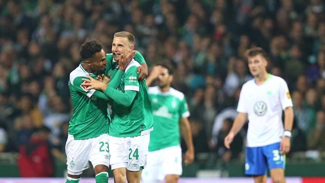 Im Hinspiel siegte Werder Bremen mit 2:0 gegen den VfL Wolfsburg