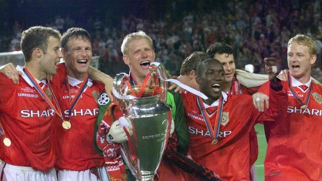 ManUnited gewann 1999 in einem dramatischen Finale gegen den FC Bayern den Champions-League-Titel