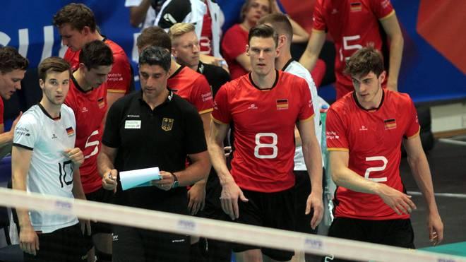 Die deutschen Volleyballer müssen gegen Frankreich die nächste Pleite hinnehmen