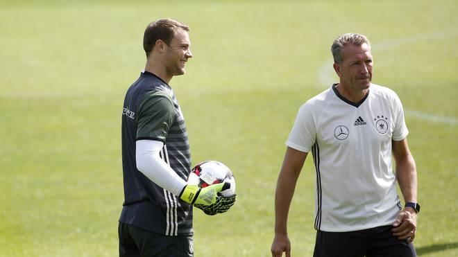 Manuel Neuer arbeitet nach seinem Mittelfußbruch an seinem Comeback