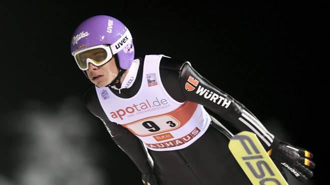 Andreas Wellinger liegt nach dem ersten Durchgang auf Rang fünf