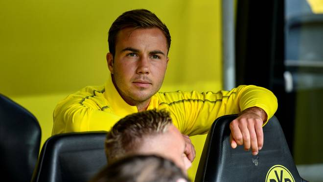BVB, Borussia Dortmund: Mario Götze fehlt im Training, Mario Götze spielt beim BVB derzeit keine Rolle