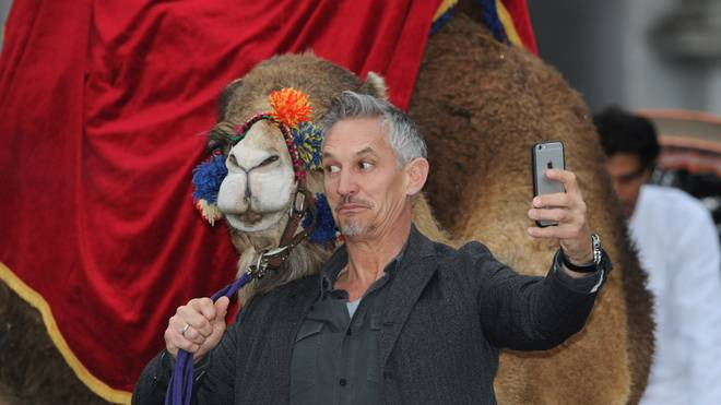 Gary Lineker Launches Walkers Spell & Go - Photocall