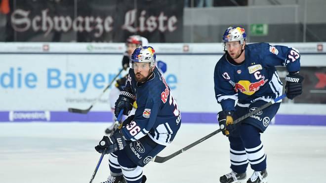 Eishockey, DEL: EHC Red Bull München siegt gegen Schlusslicht Schwenningen Der EHC Red Bull München hält mit dem Sieg gegen Straubing den Anschluss an Mannheim