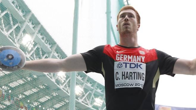 Christoph Harting ist der jüngere Bruder von Robert Harting