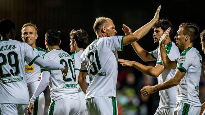 Tobias Levels gab ein Kurzzeit-Comeback für Borussia Mönchengladbach