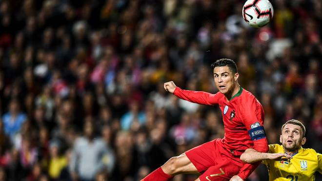 Cristiano Ronaldo trifft mit Portugal auf Serbien