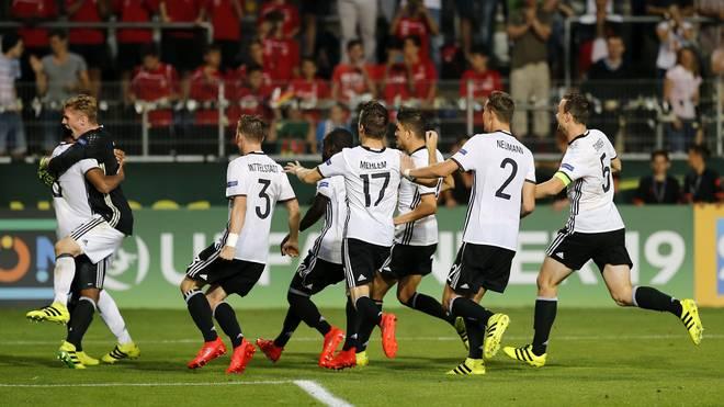 U19 Germany v U19 Netherlands - UEFA Under19 European Championship 5th Rank Match