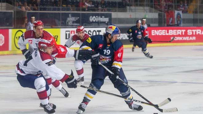 Der EHC Red Bull München muss in der CHL ran