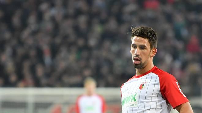 Rani Khedira spielt als Profi beim FC Augsburg