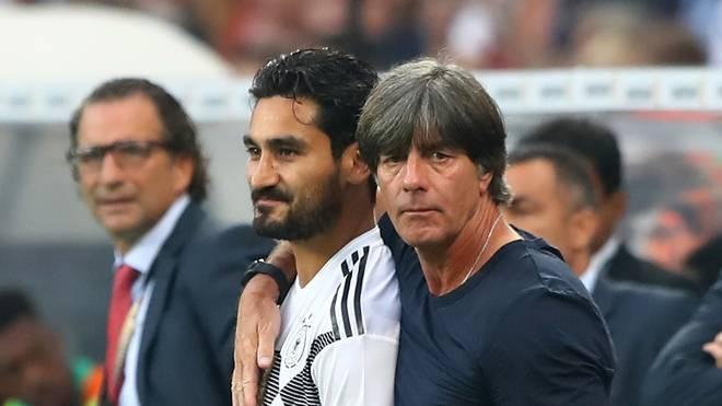 Joachim Löw muss in den nächsten Nations-League-Spielen womöglich auf Ilkay Gündogan verzichten
