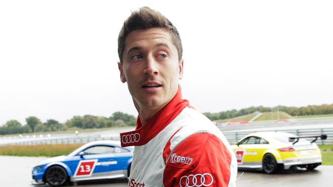 Robert Lewandowski ist ein Motorsport-Fan