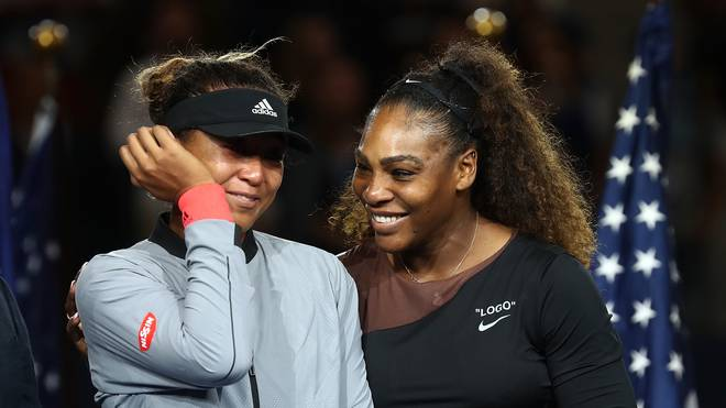 US-Open-Siegerin Naomi Osaka: Keine Kritik an Serena Williams, Naomi Osaka (links) gewann die US Open gegen Serena Williams