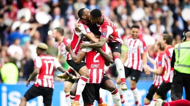 PSV Eindhoven sicherte sich zum 24. Mal den Meistertitel in den Niederlanden