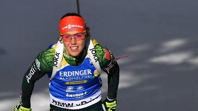 Laura Dahlmeier wartet noch auf ihren ersten Olympiasieg