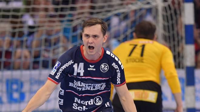 Hampus Wanne wurde gegen den HBC Nantes erneut zum Helden