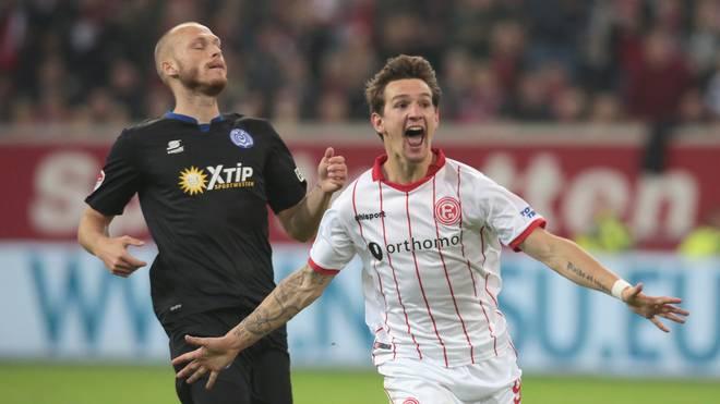 Ein Tor, eine Vorlage: Benito Raman (l.) glänzt im Derby für Fortuna Düsseldorf