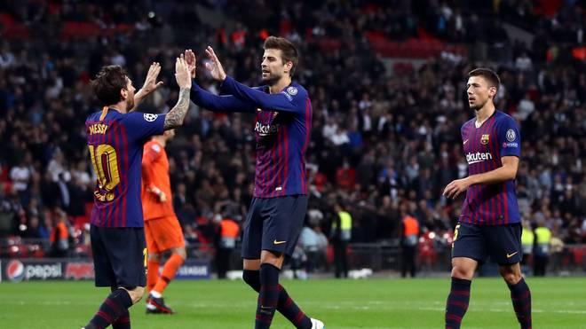Ob Lionel Messi (l.) in der Champions League auflaufen kann, ist noch unklar