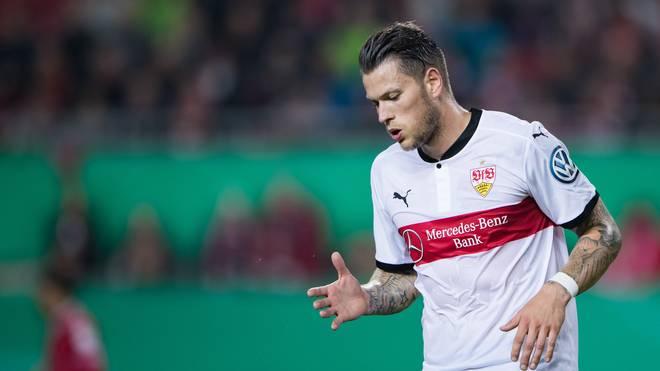 Daniel Ginczek steuerte zwei Tore zum Sieg des VfB Stuttgart bei