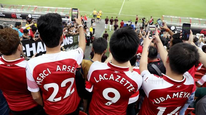 Arsenals Fans müssen für einen Stadion-Besuch tief in die Taschen zu greifen