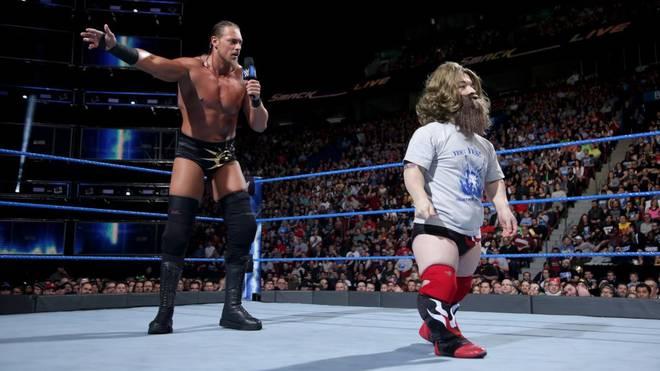 Big Cass ging in diesem WWE-Segment bei SmackDown Live weiter als abgesprochen