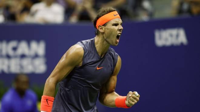 US Open 2018: Rafael Nadal schlägt Dominic Thiem in fünf Sätzen