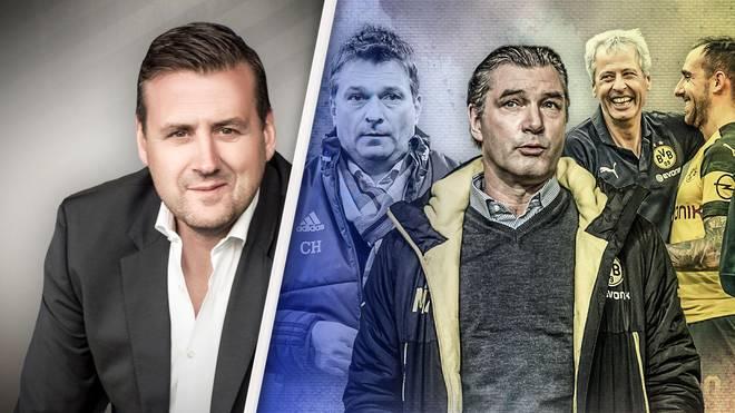 In seiner SPORT1-Kolumne rät Pit Gottschalk (l.) dem FC Schalke, sich in mehrfacher Hinsicht an Dortmund zu orientieren