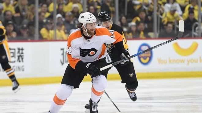 Sean Couturier schied mit den Philadelphia Flyers aus den Playoffs aus