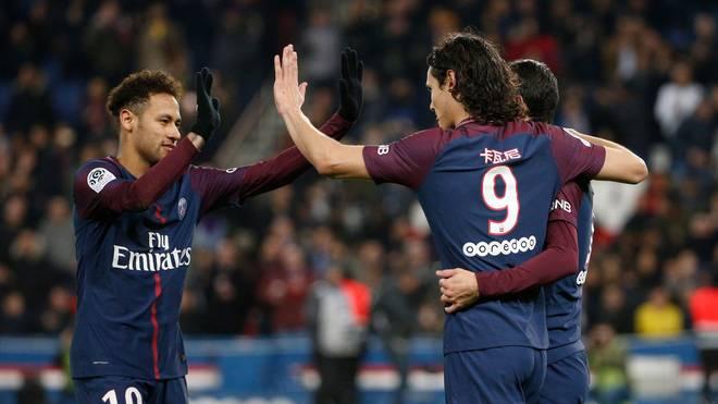 Neymar konnte beim Rückspiel gegen Real Madrid wegen einer Verletzung nicht mitwirken