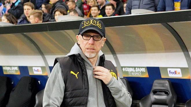 Peter Stöger hat bei Borussia Dortmund nur einen Vertrag bis zum Saisonende