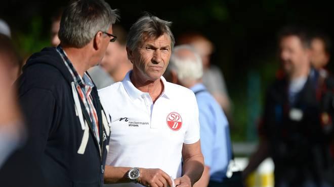 Klaus Augentahler Takes The First Training Session Of SV Donaustauf