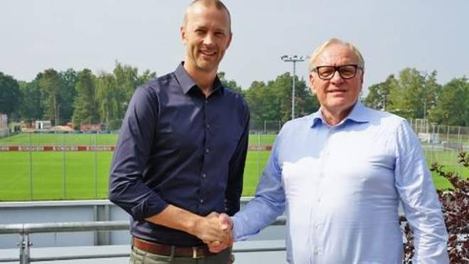 Nils Rossow (Links) wird neuer Kaufmännischer Vorstand des 1. FC Nürnberg