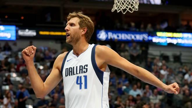 Dirk Nowitzki plant eine weitere Saison bei den Dallas Mavericks