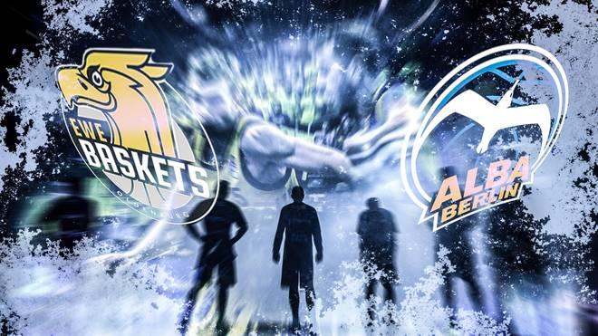 Die EWE Baskets Oldenburg treffen in den BBL-Playoffs auf ALBA Berlin