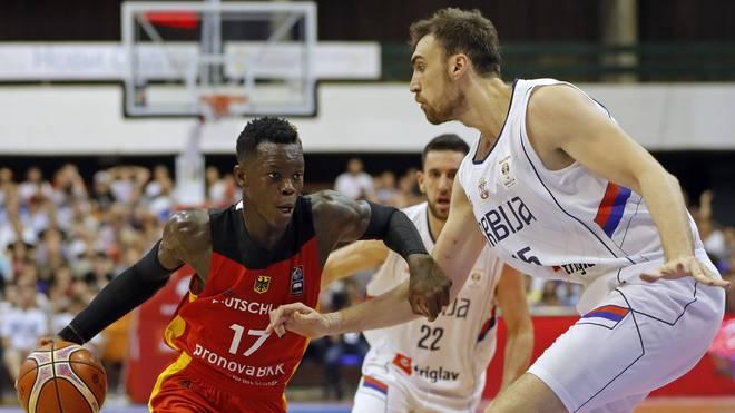 Dennis Schröder gewann mit Deutschland in Serbien