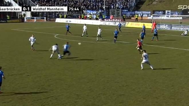 Waldhof Mannheim gelingt gegen Saarbrücken ein unerwarteter Sieg