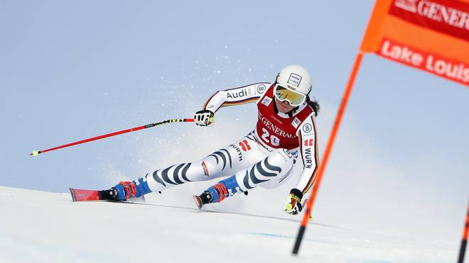 Kira Weidle fuhr erstmals bei einem Weltcup-Rennen auf das Podest