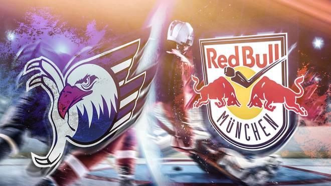 Sechsmaliger Meister gegen Titelverteidiger: Die Adler Mannheim empfangen Red Bull München