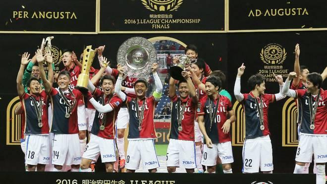 Kashima Antlers wurde zum achten Mal Meister