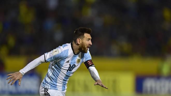 Superstar Lionel Messi hofft bei der WM 2018 auf ein gutes Abschneiden der Argentinier
