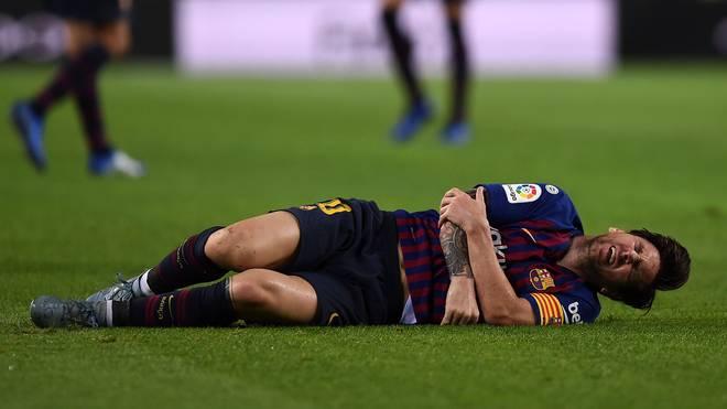 Lionel Messi plagen seit Monaten gesundheitliche Probleme